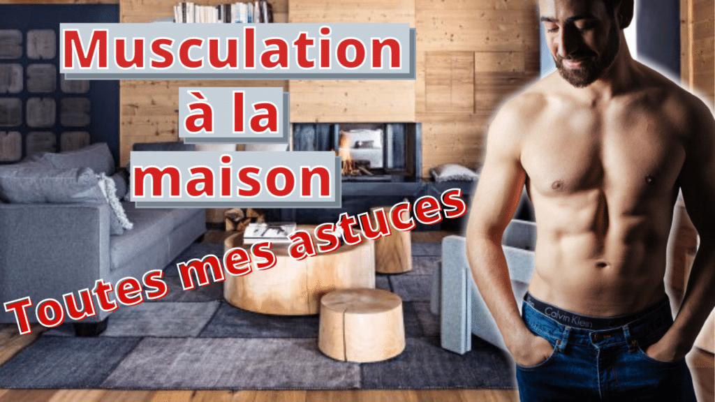 musculation à la maison sans matériel